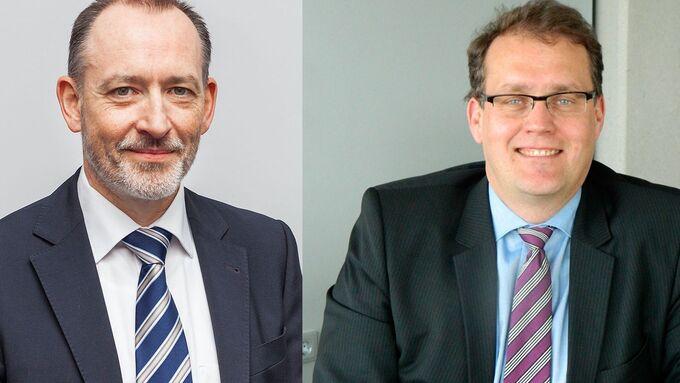 Peter Ström, Geschäftsführer Pema, Udo Brestel Vertriebsleiter Pema