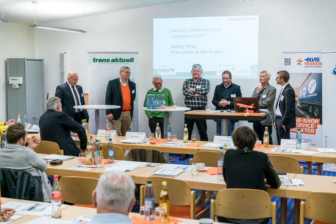 Rüdinger Spedition, Krautheim, trans aktuell-Symposium