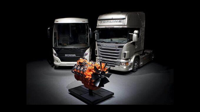 Scania gliedert Motorengeschäft ein