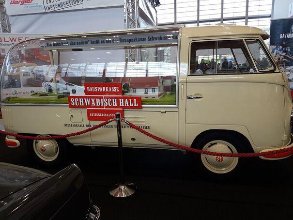 Schwäbisch Hall VW T1 Pritche