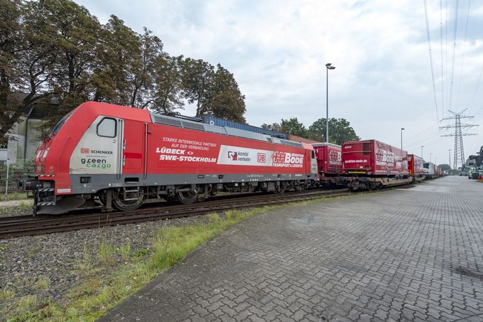 Spedition Bode Company Train
