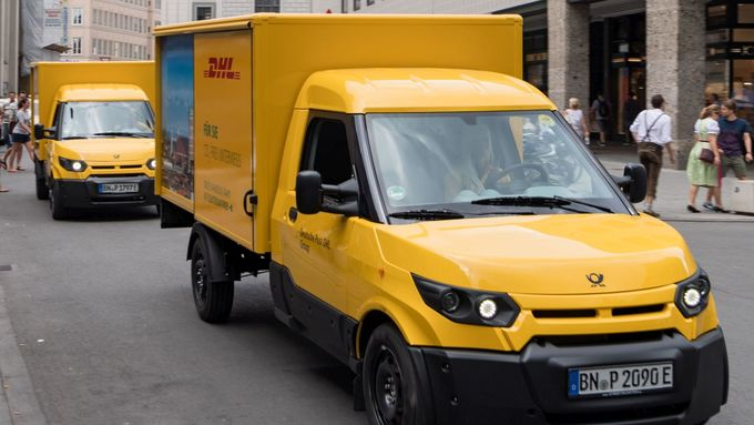 Streetscooter, DHL