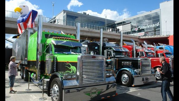 Truck-Grand-Prix, Truck Race, Lkw, US-Trucks, American Eagle
