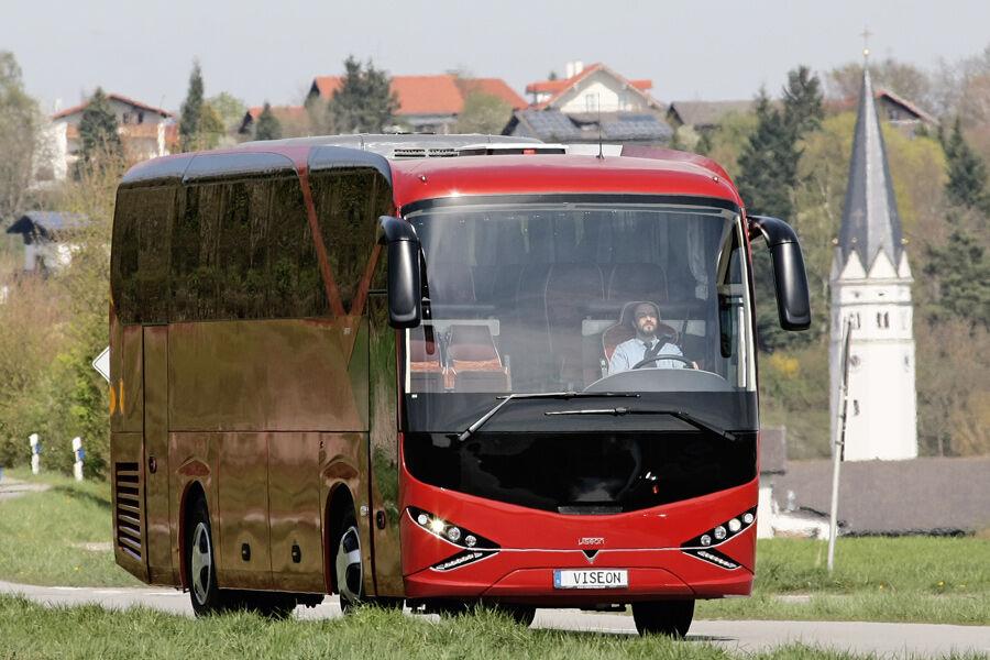 fahrbericht viseon c10 neue marke mit midibus eurotransport. Black Bedroom Furniture Sets. Home Design Ideas