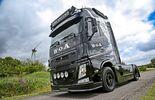 Volvo FH schwarz Wacken Uhl Trucks