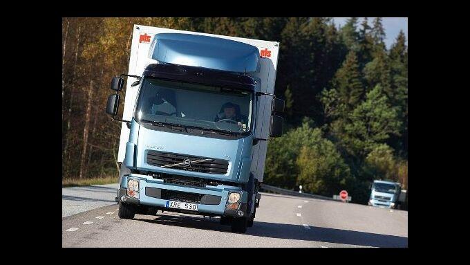 Volvo Trucks testet Methan-Diesel-Lkw