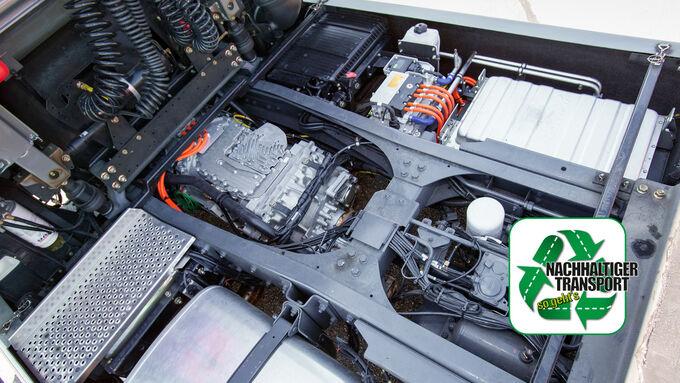 ZF Hybrid, DAF 105.460, Vorstellung des neuen AS Tronic-Getriebes