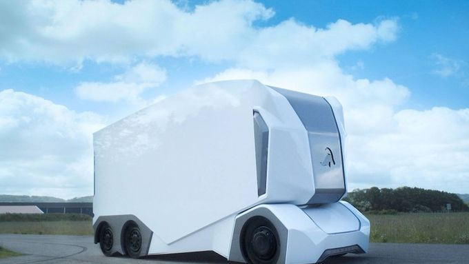 t-pod, einride, start-up, elektro, autonom